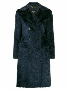 Paltò Ottavia textured coat - Blue