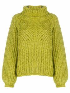 Stine Goya roll-neck jumper - Green
