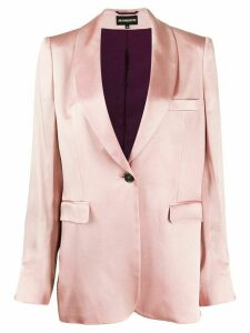 Ann Demeulemeester single breasted blazer - Pink
