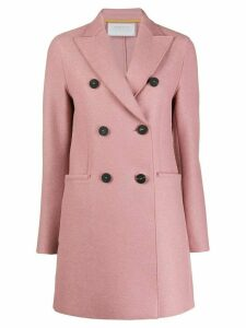 Harrys of London short double-breasted coat - Pink