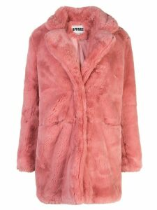 Apparis Sophie faux fur coat - Pink