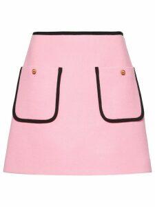 Miu Miu a-line knitted skirt - Pink