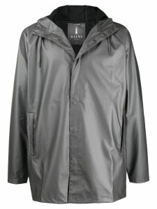 Rains hooded short coat - Grey
