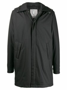 Rains hooded thermal coat - Black