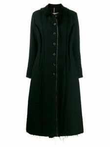 Uma Wang Cacey single-breasted coat - Black
