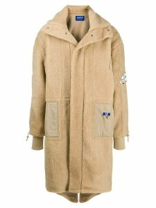 Ader Error oversized dumble coat - Neutrals