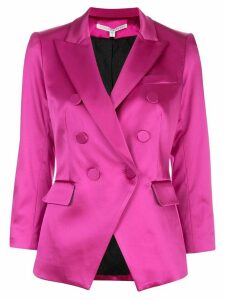 Veronica Beard fitted double breasted blazer - Pink