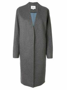 Enföld longline cocoon coat - Grey