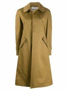 LANVIN Peter Pan collar coat - Neutrals