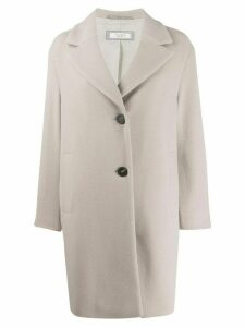 Peserico single breasted coat - Neutrals