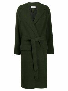 Barena oversized belted coat - Green