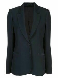 Kiki de Montparnasse fitted tuxedo blazer - Blue