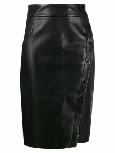 Sandro Paris fitted pencil skirt - Black
