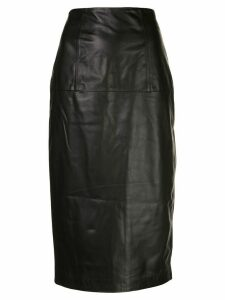 Kiki de Montparnasse Bustle pencil skirt - Black