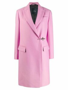 Fay wrap style coat - PINK