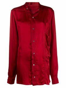 Rick Owens button-up shirt - Red
