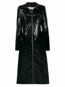 Almaz zipped chest pockets coat - Black