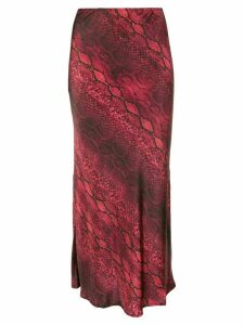 Andamane Bella high waisted skirt - Red