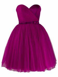 Viktor & Rolf Soir strapless flared-skirt dress - PURPLE