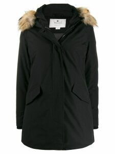 Woolrich Arctic hooded waterproof parka - Black