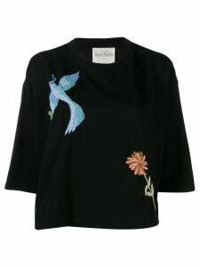 Forte Forte embroidered t-shirt - Black