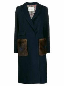 Ava Adore Tahiti fitted coat - Blue