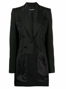 Dolce & Gabbana buttoned tailcoat - Black