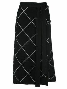 Proenza Schouler belted wrap skirt - Black