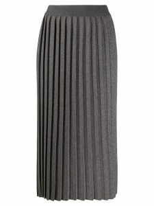Fabiana Filippi high-rise pleated skirt - Grey