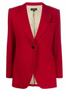 Theory cinched blazer - Red