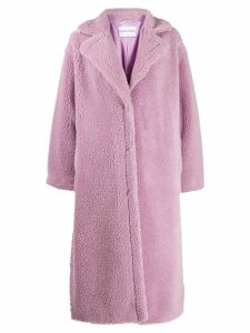 Stand Studio Maria faux fur coat - PURPLE