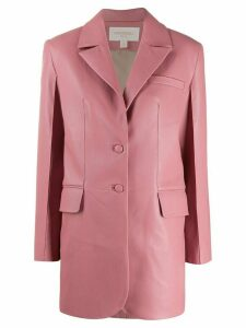 Matériel single breasted blazer - PINK