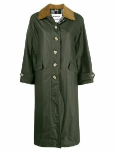 Barbour x Alexa Chung Maisie waxed coat - Green