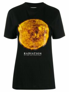 Marine Serre Radiation planet print T-shirt - Black