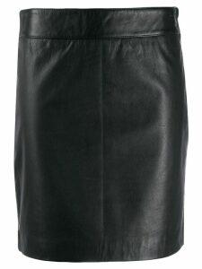 L'Autre Chose fitted short skirt - Black