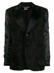Junya Watanabe floral embroidered blazer - Black
