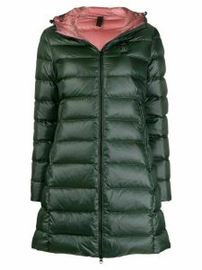 Blauer hooded padded coat - Green