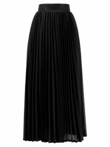 Amuse mid-length pleated skirt - Black
