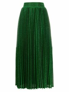 Amuse high-waisted pleated skirt - Green