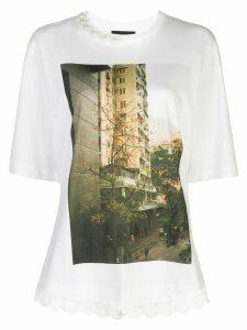Simone Rocha photo print T-shirt - White