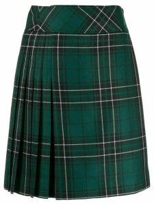 Pringle of Scotland tartan short skirt - Green