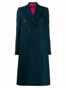 PS Paul Smith double-breasted coat - Blue