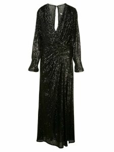 Jonathan Simkhai flared sequined evening dress - Black