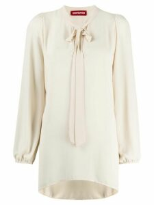 Guardaroba tie neck blouse - White