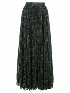 Jill Jill Stuart dot print pleated skirt - Black