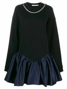 Christopher Kane cupcake sweatshirt dress - Black