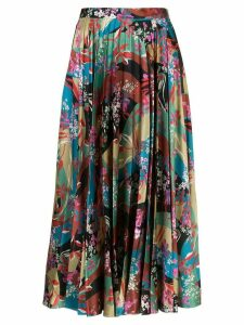 Sachin & Babi floral print pleated skirt - Multicolour