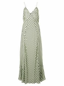 Proenza Schouler georgette sleeveless dress - Green