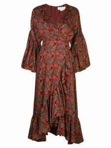 Sachin & Babi floral print flared dress