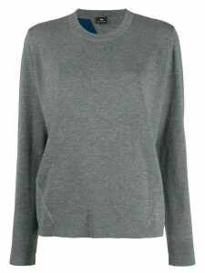 PS Paul Smith long sleeve striped sweater - Grey